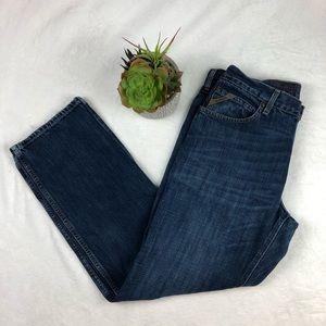 Ariat Men Jeans Sz 33 x 31.5 M3 Athletic Loop Lock
